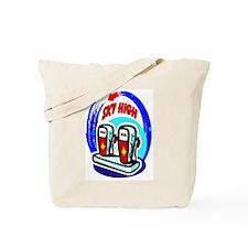 Sky High Gas Prices Tote Bag