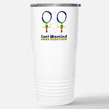 Just Married Lesbians Travel Mug