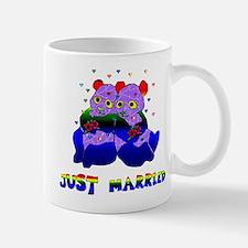 Just Married Bears Mug