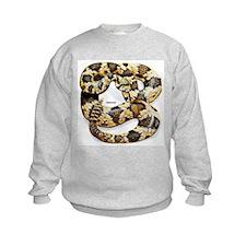 Rattlesnake Snake Sweatshirt