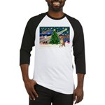 Xmas Magic & Gr Dane Baseball Jersey
