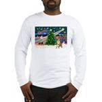 Xmas Magic & Gr Dane Long Sleeve T-Shirt