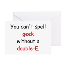 Double-E Greeting Card