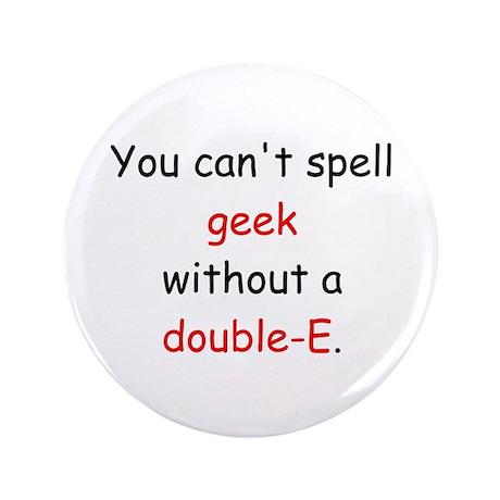 """Double-E 3.5"""" Button"""