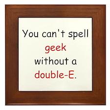 Double-E Framed Tile