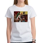 Santa's G-Shepherd (#2) Women's T-Shirt