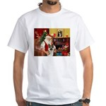 Santa's G-Shepherd (#8) White T-Shirt