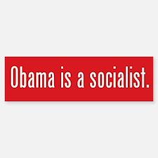 Obama Socialist Bumper Bumper Bumper Sticker