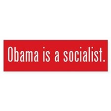 Obama Socialist Bumper Bumper Sticker
