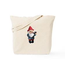Smoking Pipe Gnome Tote Bag