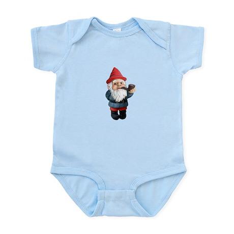 Smoking Pipe Gnome Infant Bodysuit