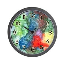 Breach of Containment Art Wall Clock