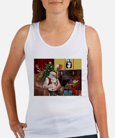 Santa's French BD (1) Women's Tank Top
