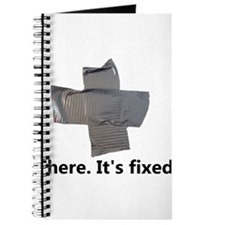 there. it's fixed. duct tape Journal
