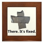 there. it's fixed. duct tape Framed Tile