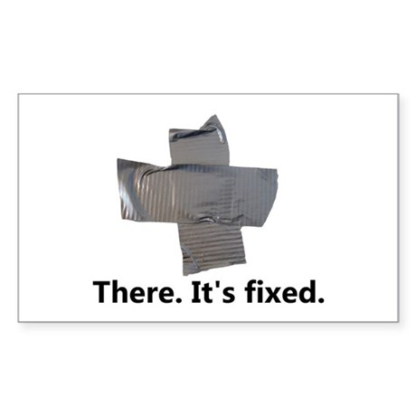 there. it's fixed. duct Sticker (Rectangle 10 pk)