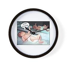 Baby Power! - Wall Clock