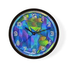 Planet Earth Art Wall Clock