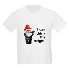 Drink my height, Gnome T-Shirt