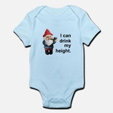 Drink my height, Gnome Infant Bodysuit