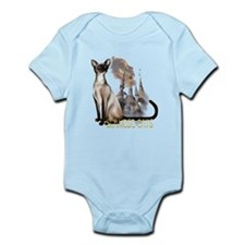 Siamese Cats Infant Bodysuit