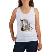 Siamese Cats Women's Tank Top