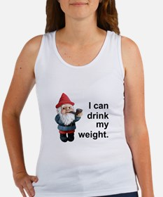 Drink my weight, Gnome Women's Tank Top