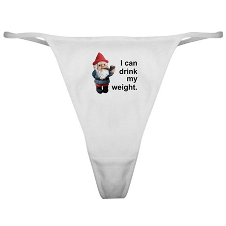 Drink my weight, Gnome Classic Thong