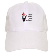 Drink my weight, Gnome Baseball Cap
