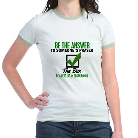 Check The Box 3 Jr. Ringer T-Shirt