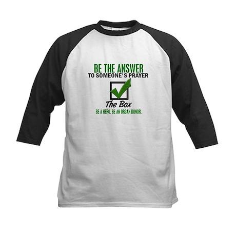 Check The Box 3 Kids Baseball Jersey