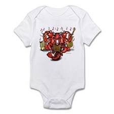 Crawfish Band Mug Body Suit