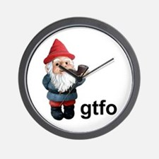 Gnome GTFO Wall Clock