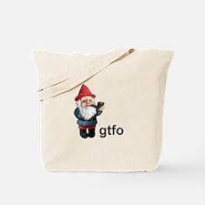Gnome GTFO Tote Bag