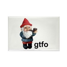 Gnome GTFO Rectangle Magnet