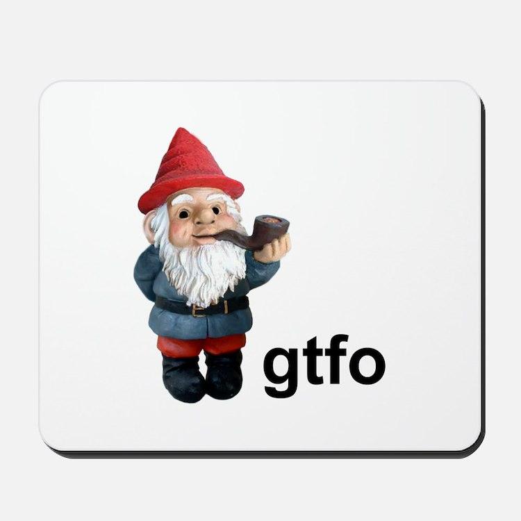 Gnome GTFO Mousepad