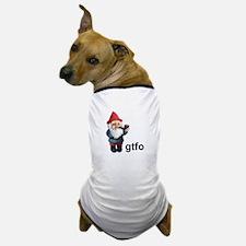 Gnome GTFO Dog T-Shirt