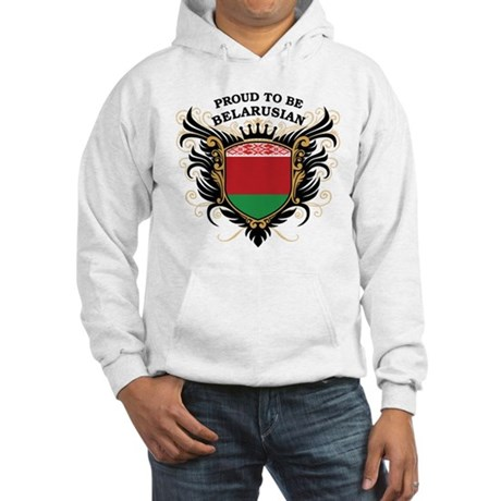 Proud to be Belarusian Hooded Sweatshirt