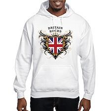 Britain Rocks Hoodie