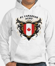 Number One Canadian Aunt Hoodie