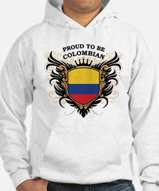 Proud to be Colombian Hoodie