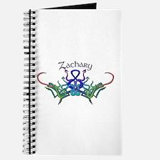 Zachary's Celtic Dragons Name Journal