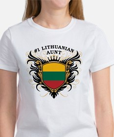 Number One Lithuanian Aunt Tee