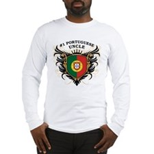 Number One Portuguese Uncle Long Sleeve T-Shirt