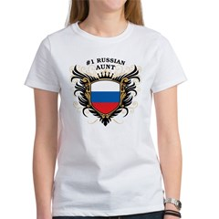 Number One Russian Aunt Tee