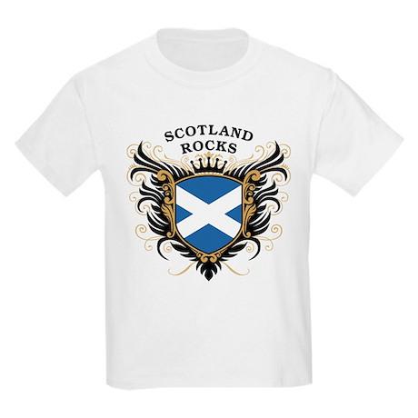 Scotland Rocks Kids Light T-Shirt