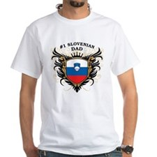 Number One Slovenian Dad Shirt