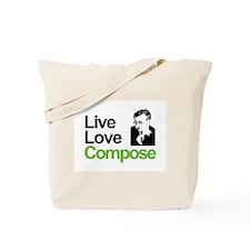 Shosti's Live Love Compose Tote Bag