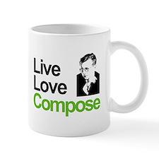 Shosti's Live Love Compose Mug