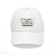 Zachary's 8th Birthday Baseball Cap